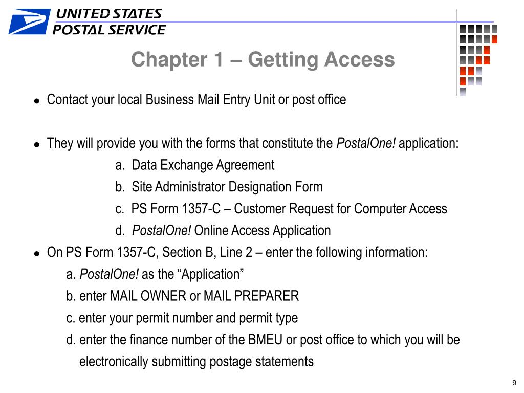 Chapter 1 – Getting Access