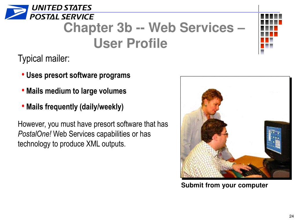 Chapter 3b -- Web Services – User Profile