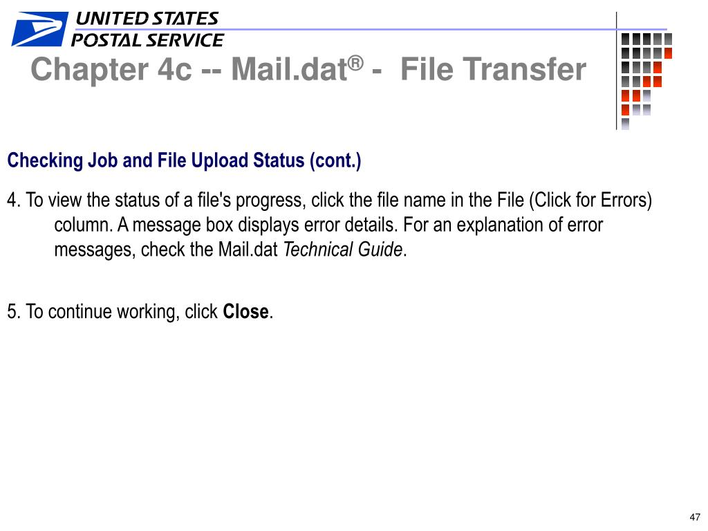 Chapter 4c -- Mail.dat