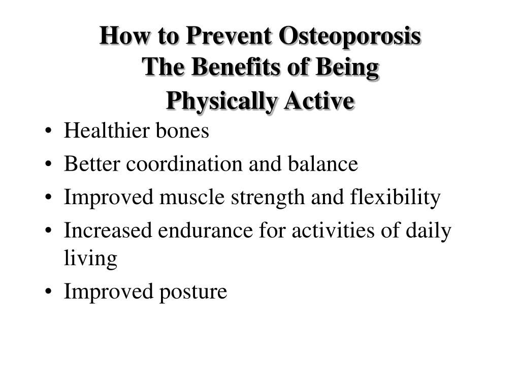 How to Prevent Osteoporosis