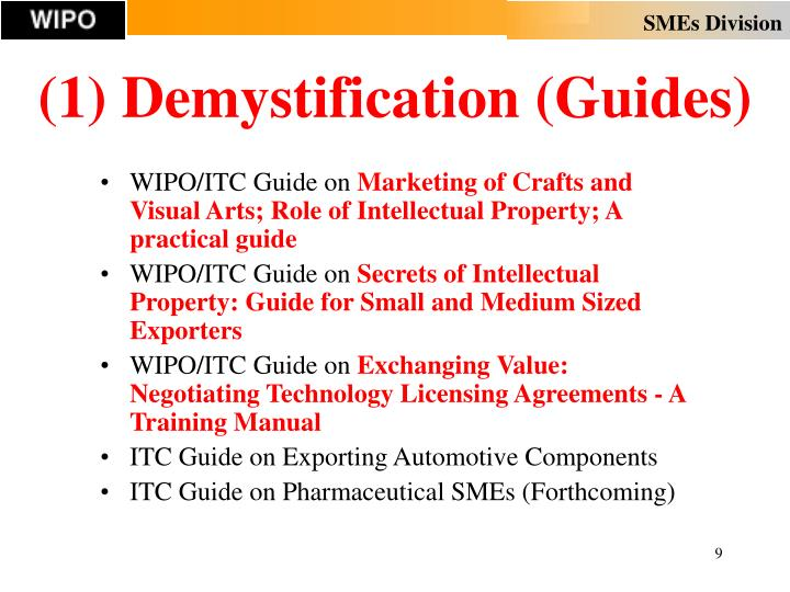 (1) Demystification (Guides)