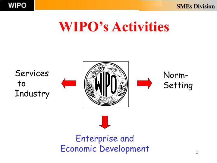 WIPO's Activities
