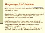 temporo parietal junction