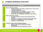 problem definition overview3
