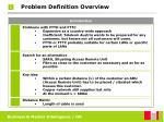 problem definition overview4