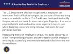 a step by step toolkit for employers