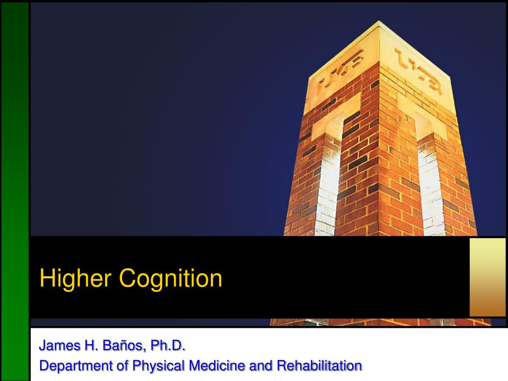 Higher Cognition