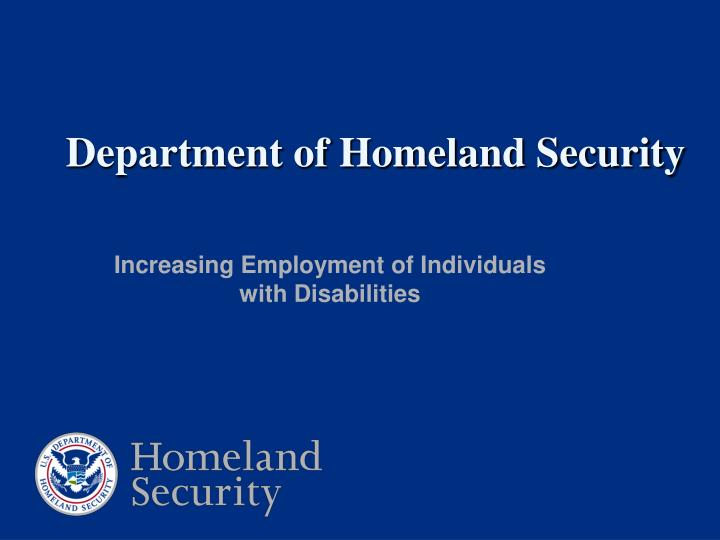 opinion essay on homeland security course expectation The department of homeland security comprises of five directors namely, the directors of national protection and programs, the directorate of science and technology, the directorate of management, the in my opinion, the department of homeland security is well organized, in a logical way of least.