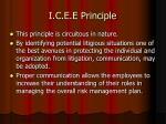 i c e e principle25