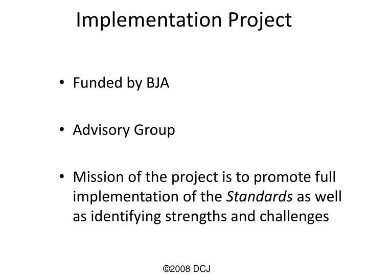 Implementation Project