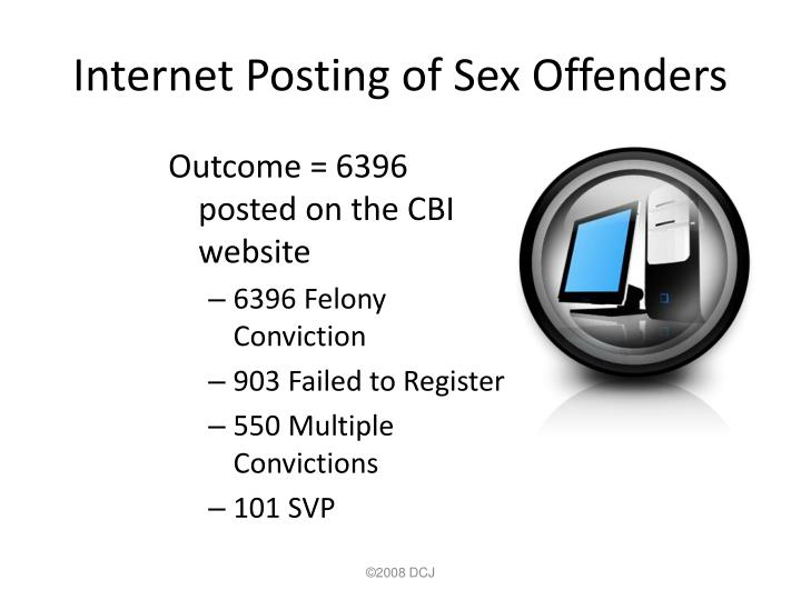 Internet Posting of Sex Offenders