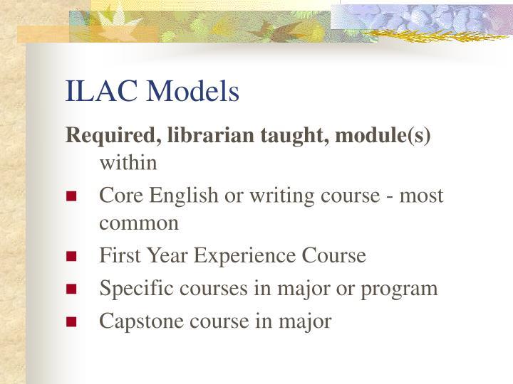 ILAC Models