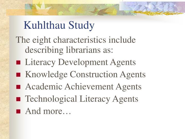 Kuhlthau Study