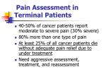 pain assessment in terminal patients