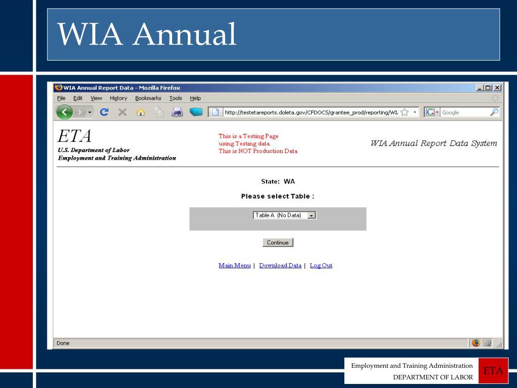 WIA Annual