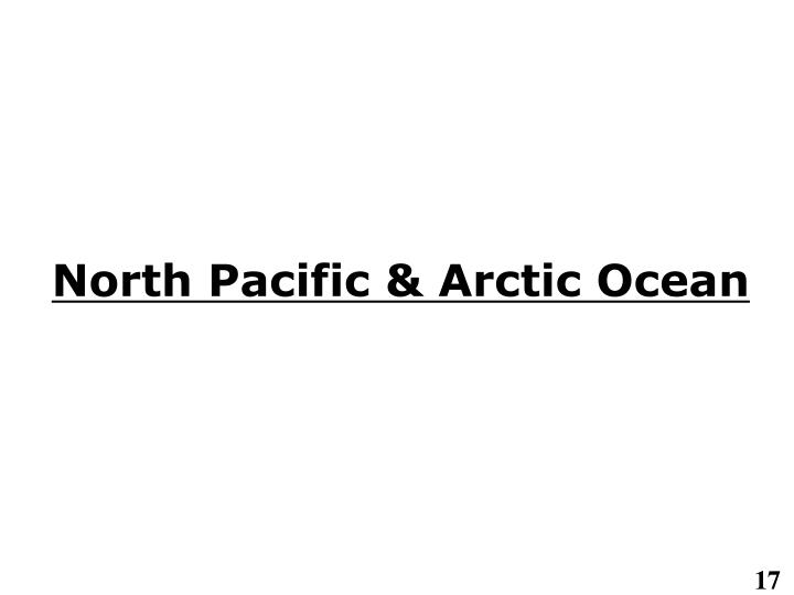 North Pacific & Arctic Ocean