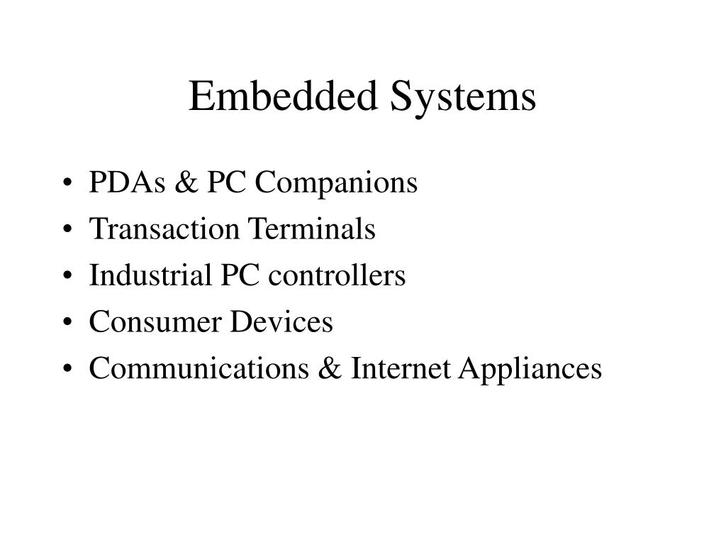 embedded systems l.