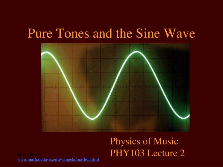 physics of music Preface these are the lecture notes provided for physics 224, the physics of music, taught at mcgill university in fall 2006 they were written by the instructor in fall 2005 and represent a.