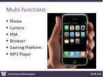multi functions
