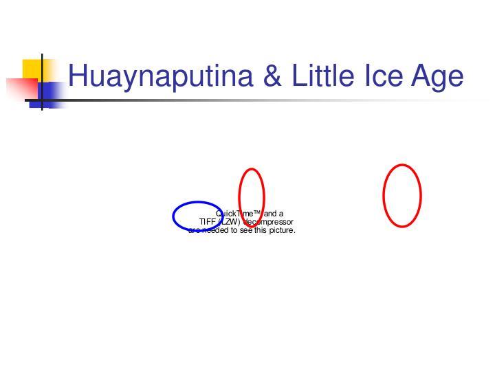 Huaynaputina & Little Ice Age