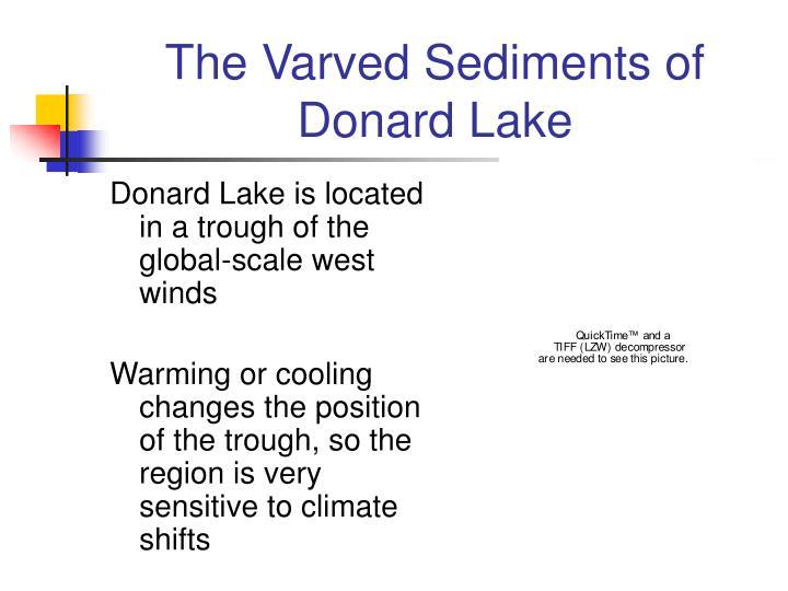 The Varved Sediments of Donard Lake