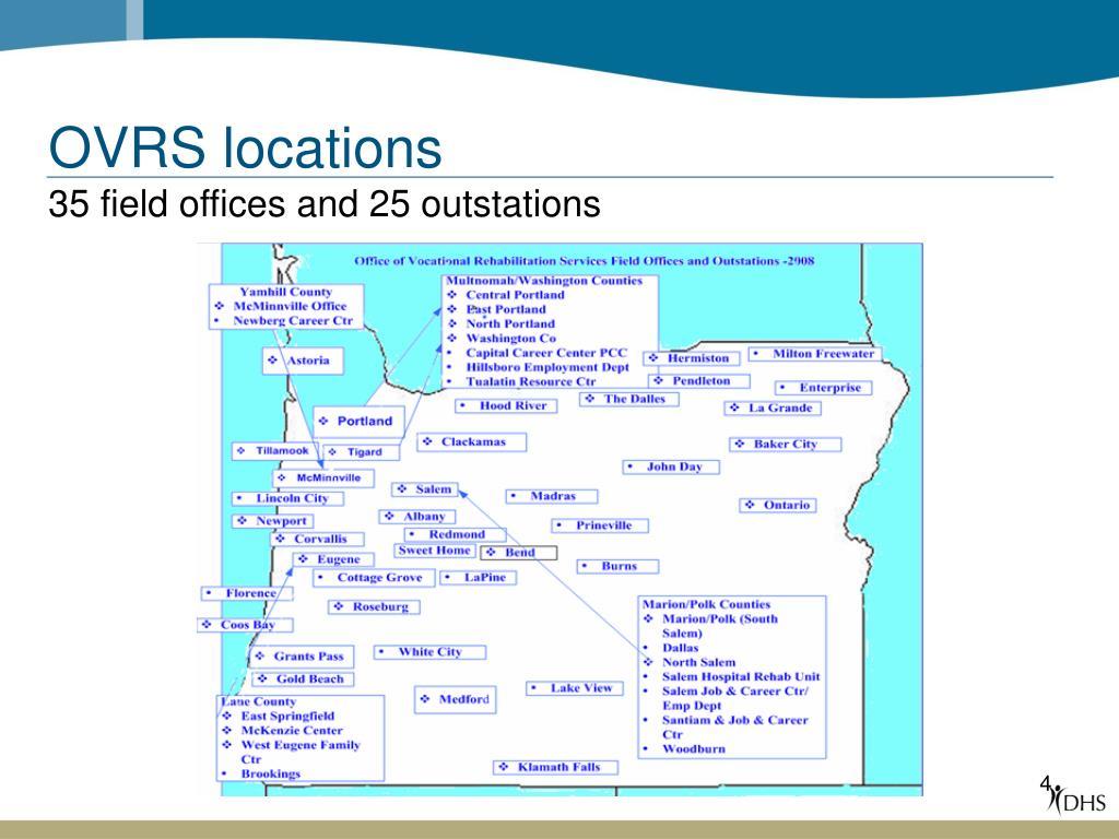 OVRS locations