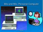 80s and 90s personal computer