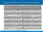 scatter gather document browser