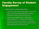 faculty survey of student engagement50