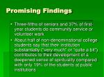promising findings10