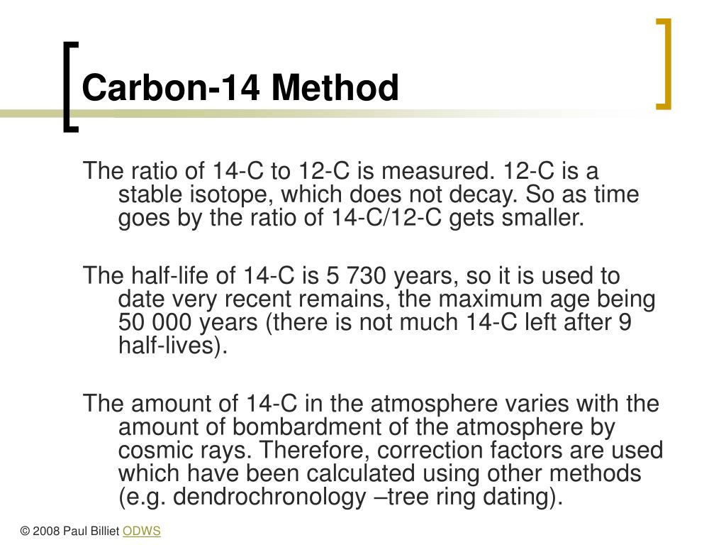 Carbon-14 Method