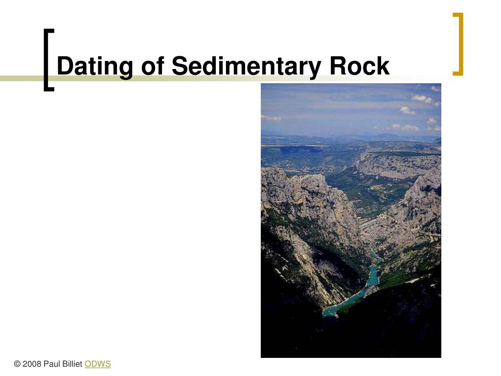 Dating of Sedimentary Rock