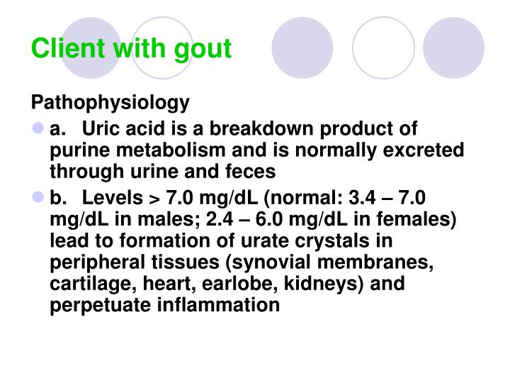 Client with gout1