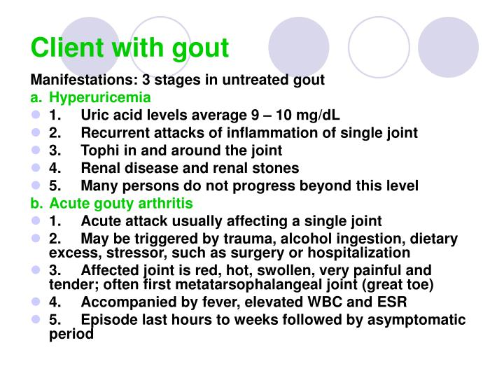 Client with gout2
