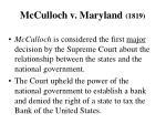 mcculloch v maryland 1819