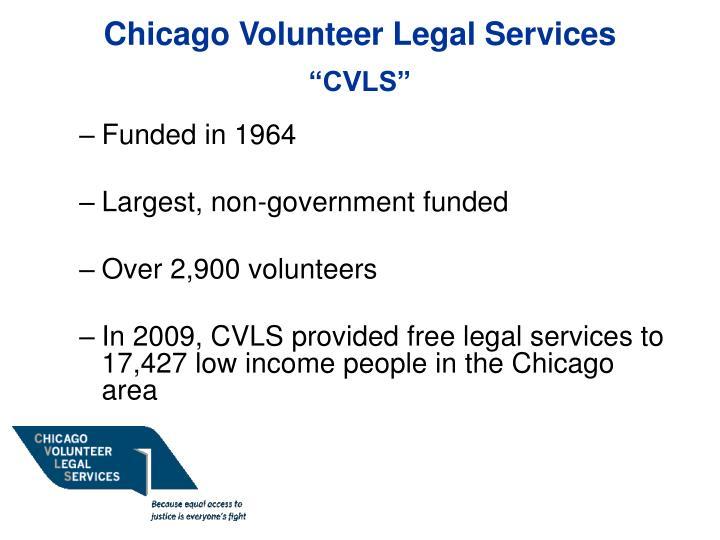Chicago Volunteer Legal Services