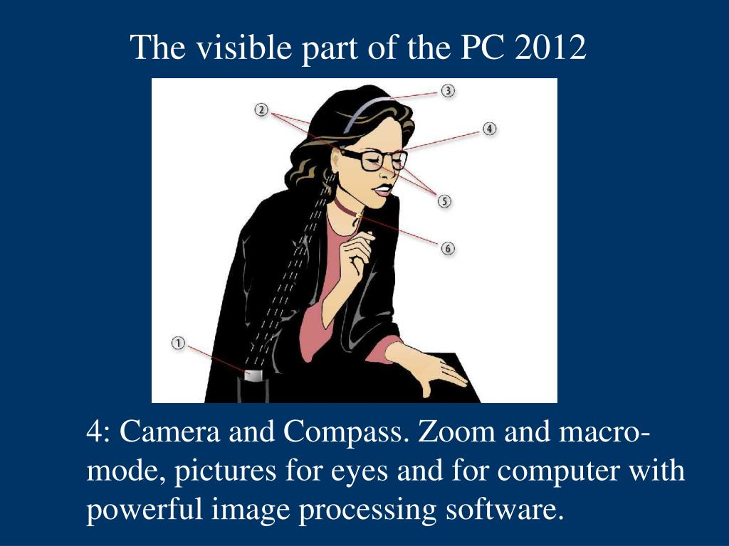 The visible part of the PC 2012