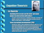 cognitive theorists7
