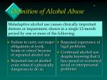 definition of alcohol abuse