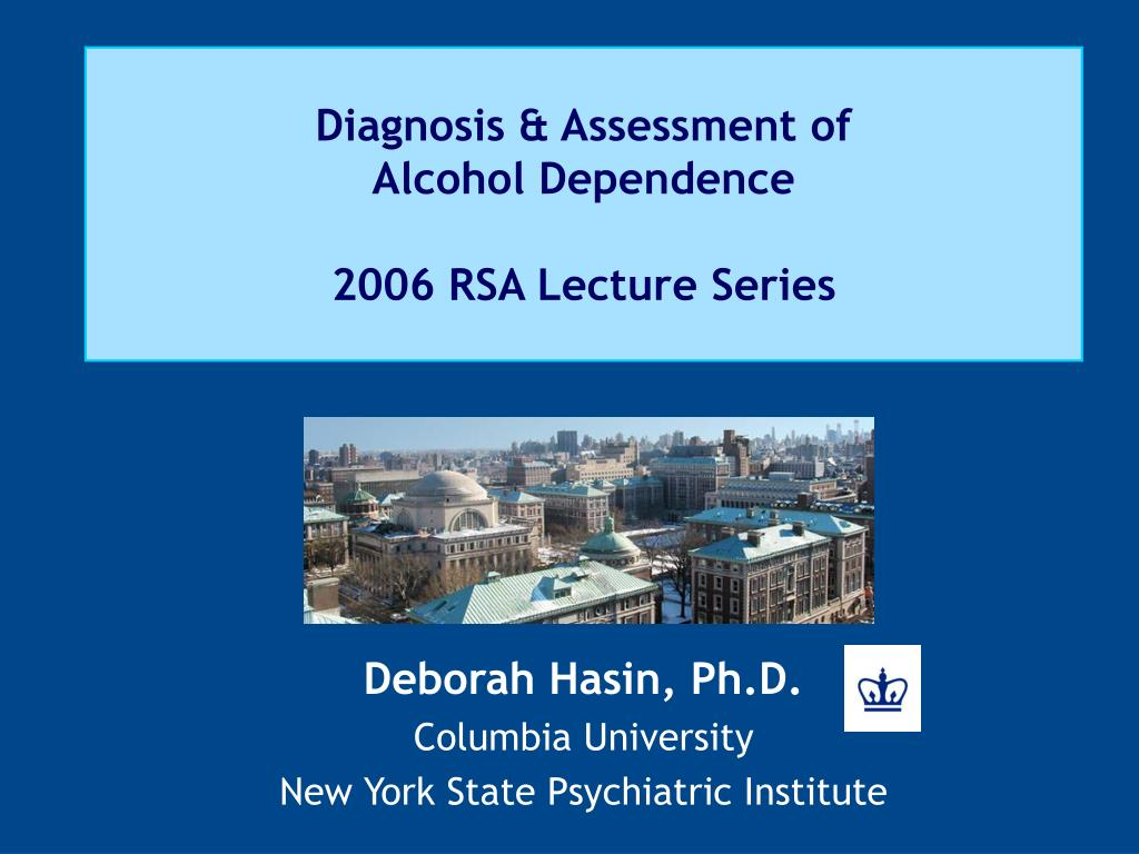 Diagnosis & Assessment of