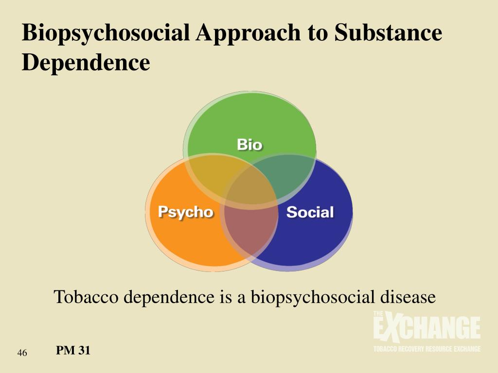 Biopsychosocial Approach to Substance Dependence