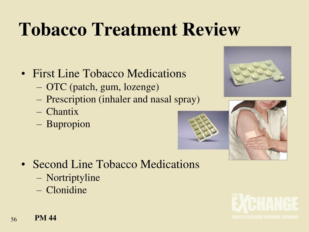 Tobacco Treatment Review
