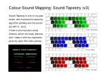 colour sound mapping sound tapestry v3