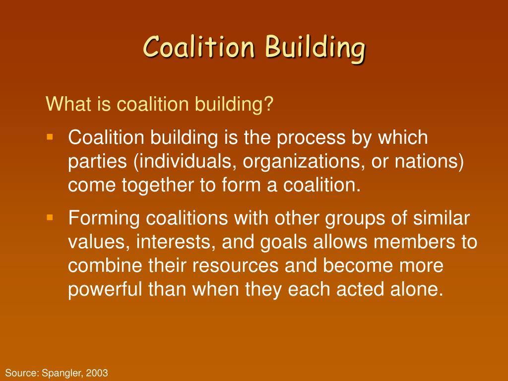 Coalition Building