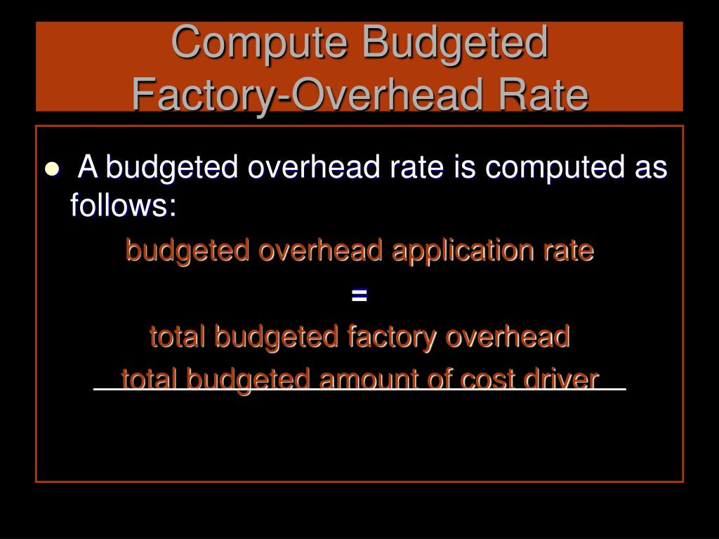 Compute Budgeted