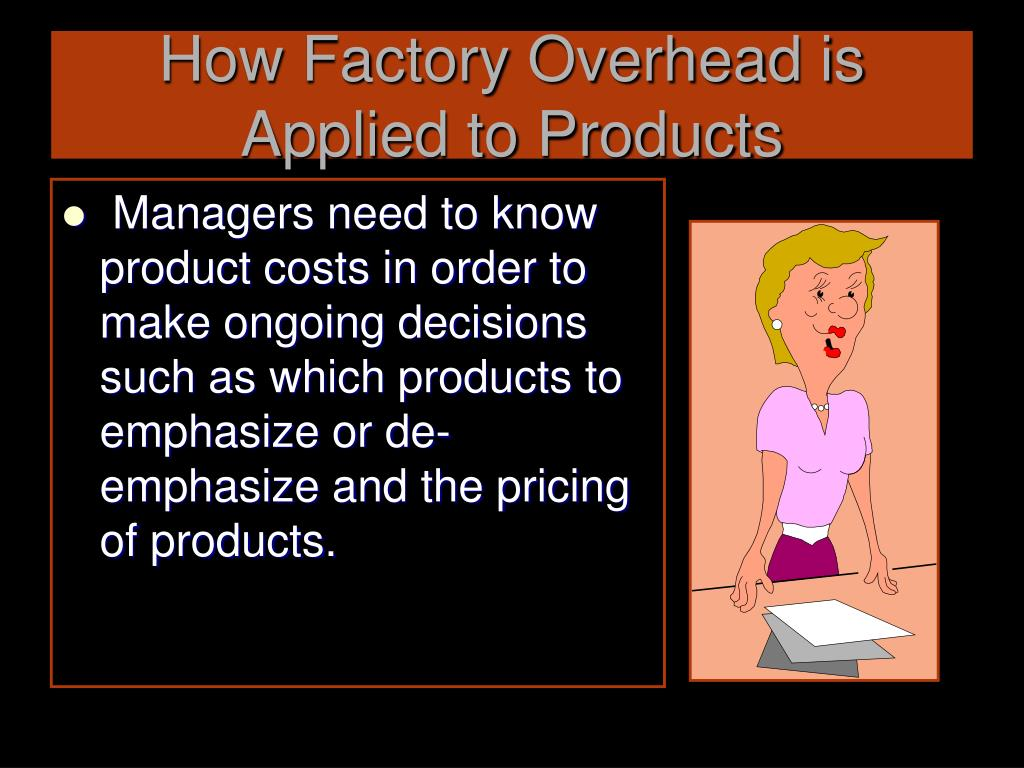 How Factory Overhead is Applied to Products