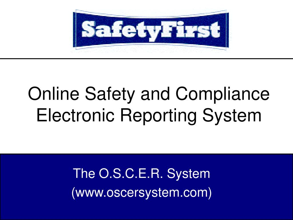 Online Safety and Compliance