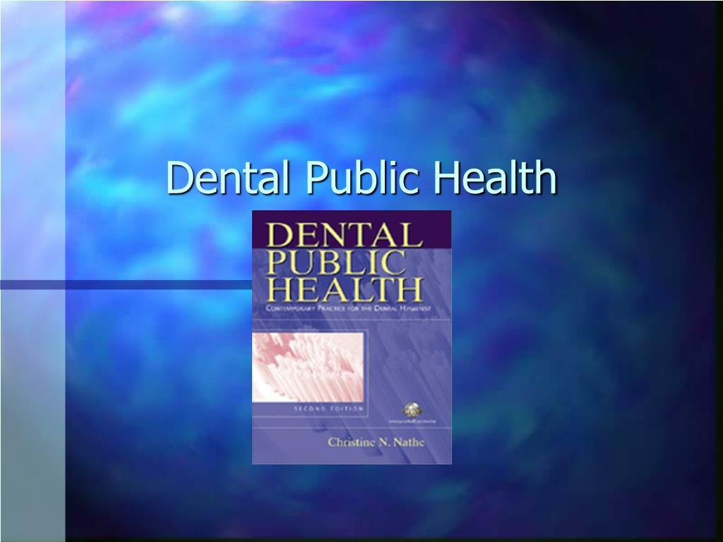 dental public health l.