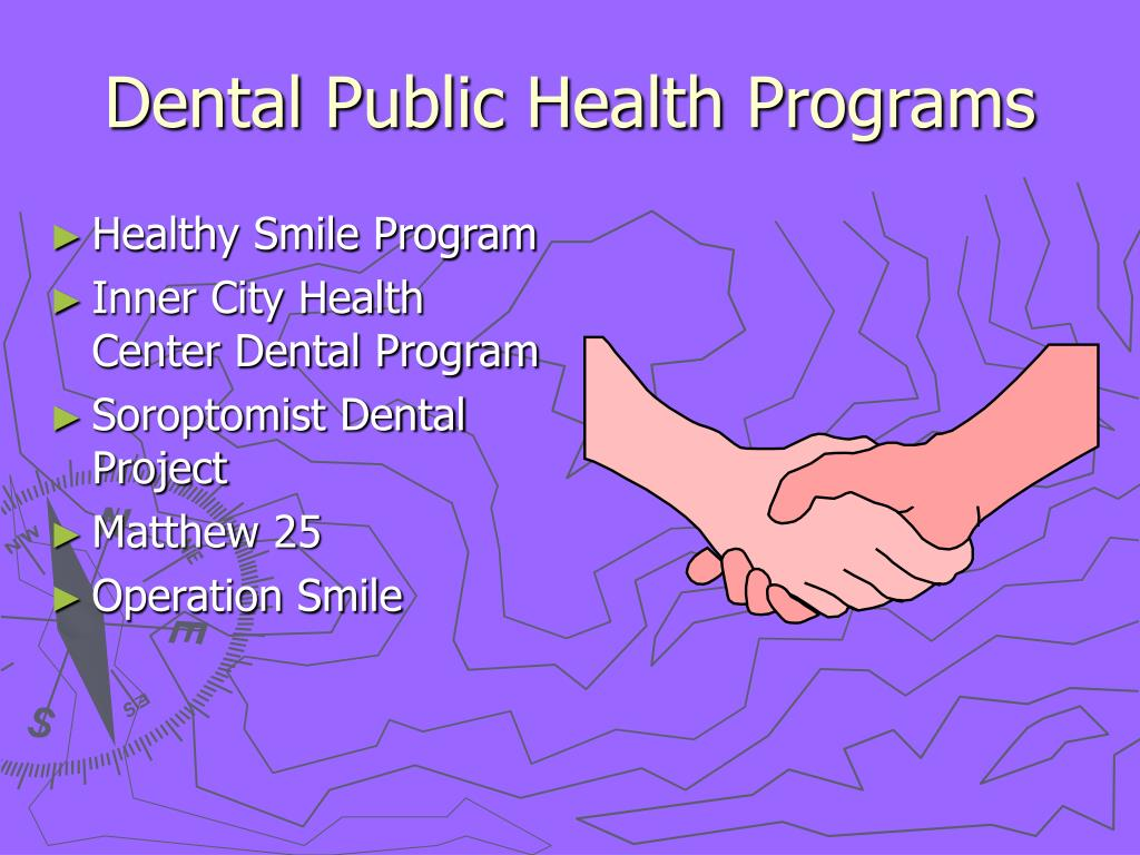 Dental Public Health Programs