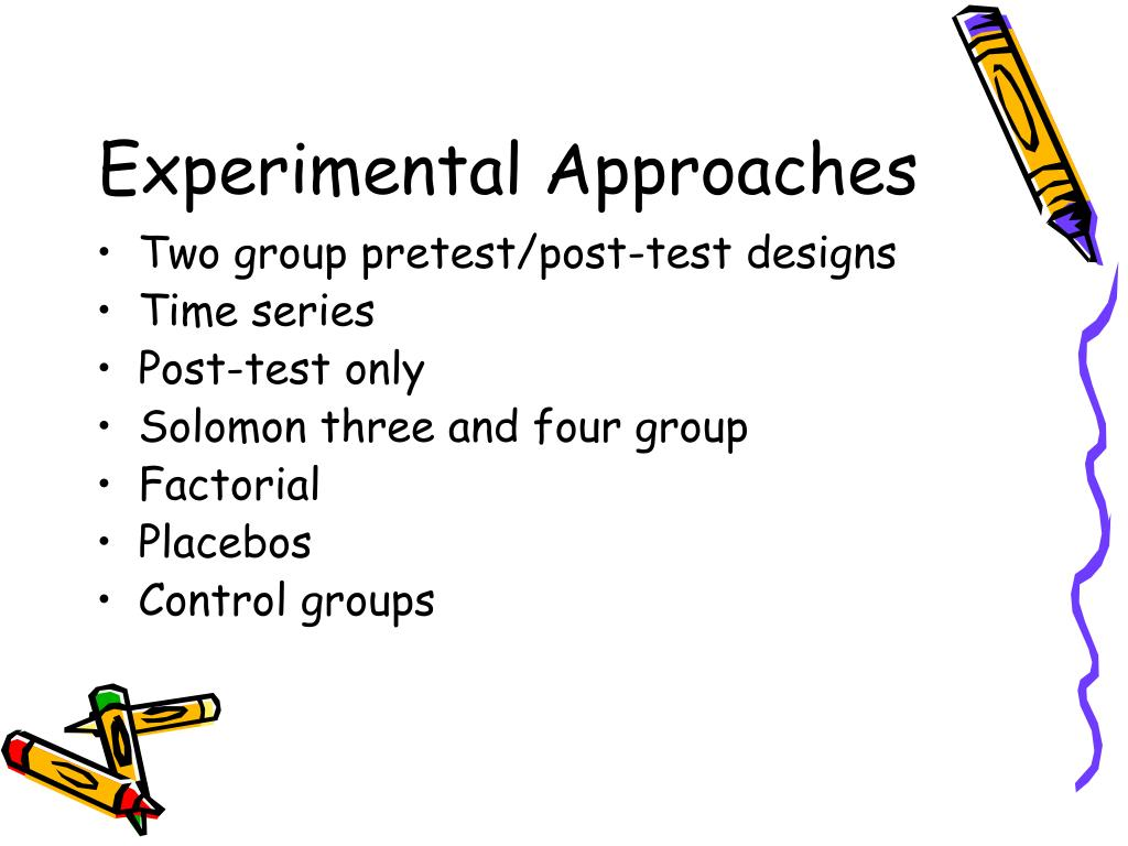 Experimental Approaches